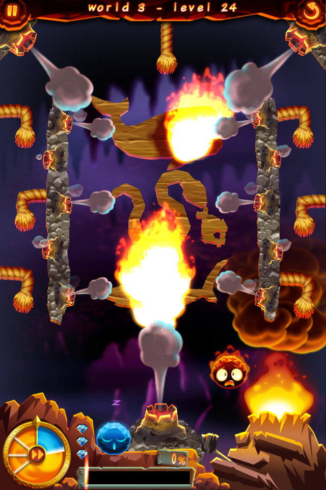 Pyromaniac puzzler Burn it All! coming to iPhone at the end of April