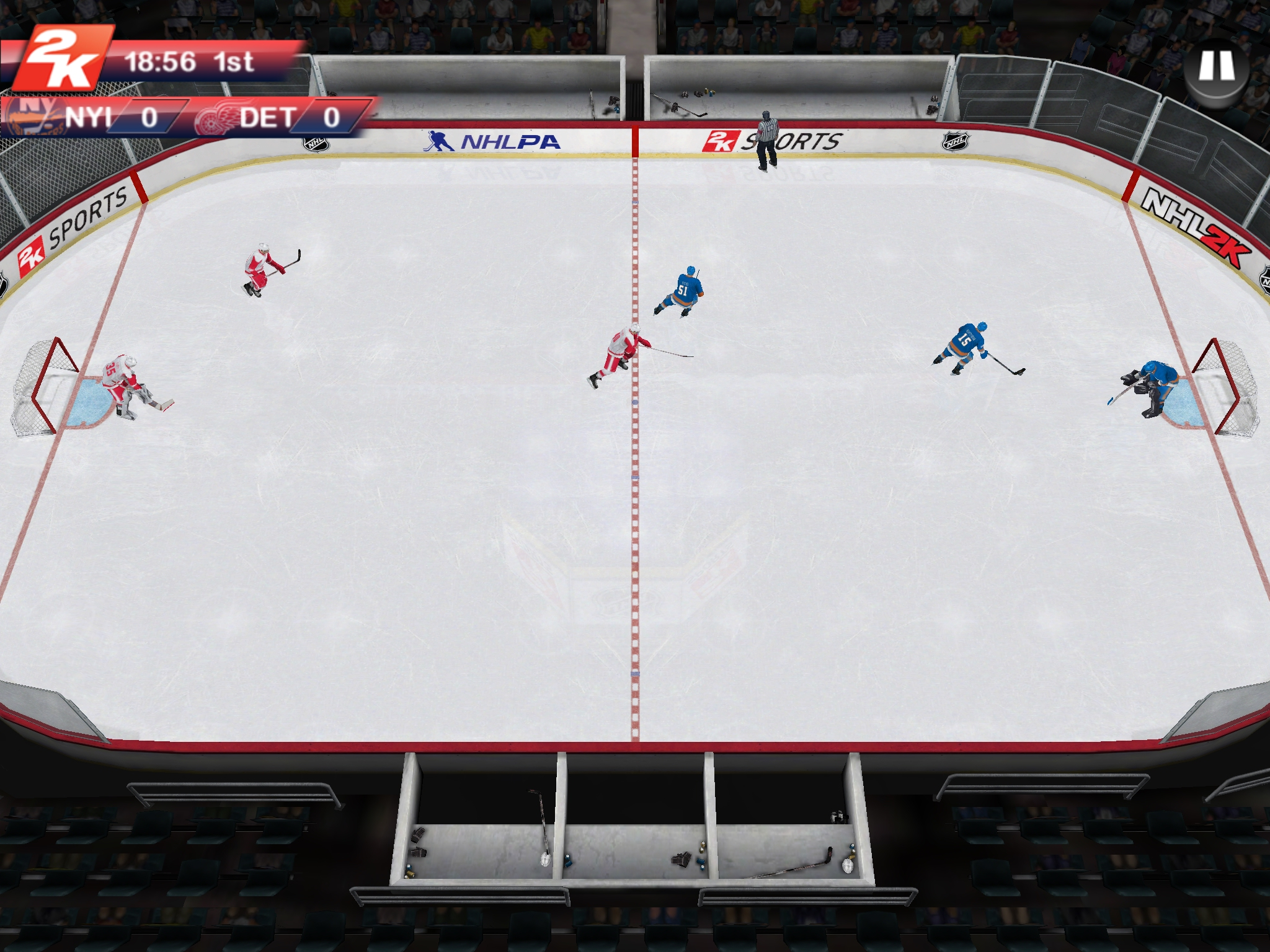 NHL 2K returns to iOS and Android shortly with new Career mode, multiplayer matches, and more