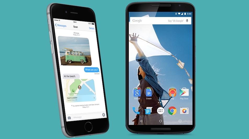 Phone Fight: Apple's iPhone 6 versus Google's Nexus 6