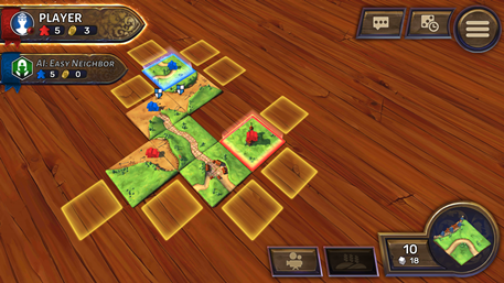 Carcassonne review - A decent, tile-placing strategy board game?