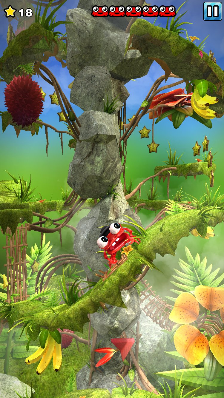 Entertaining platformer Mr. Crab 2 is out now worldwide, still looking gorgeous