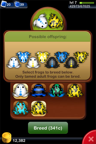 Pocket Frogs updated with iPhone 5 support, new frog breeds, and more