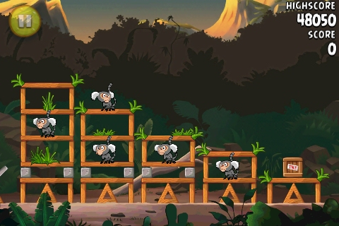 Angry Birds Rio Jungle Escape 3-star, fruit video walkthroughs