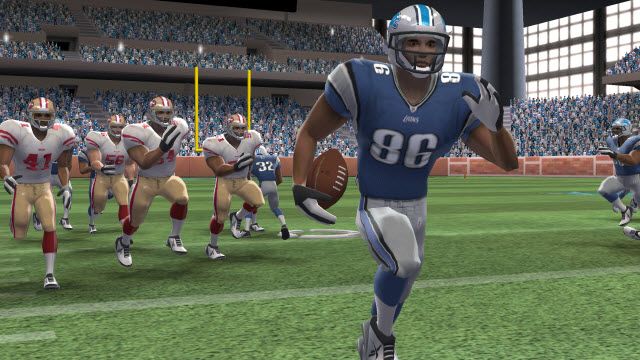 EA's Madden NFL Football launching with the 3DS