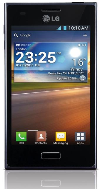 LG Optimus L5 launching later this month in Europe