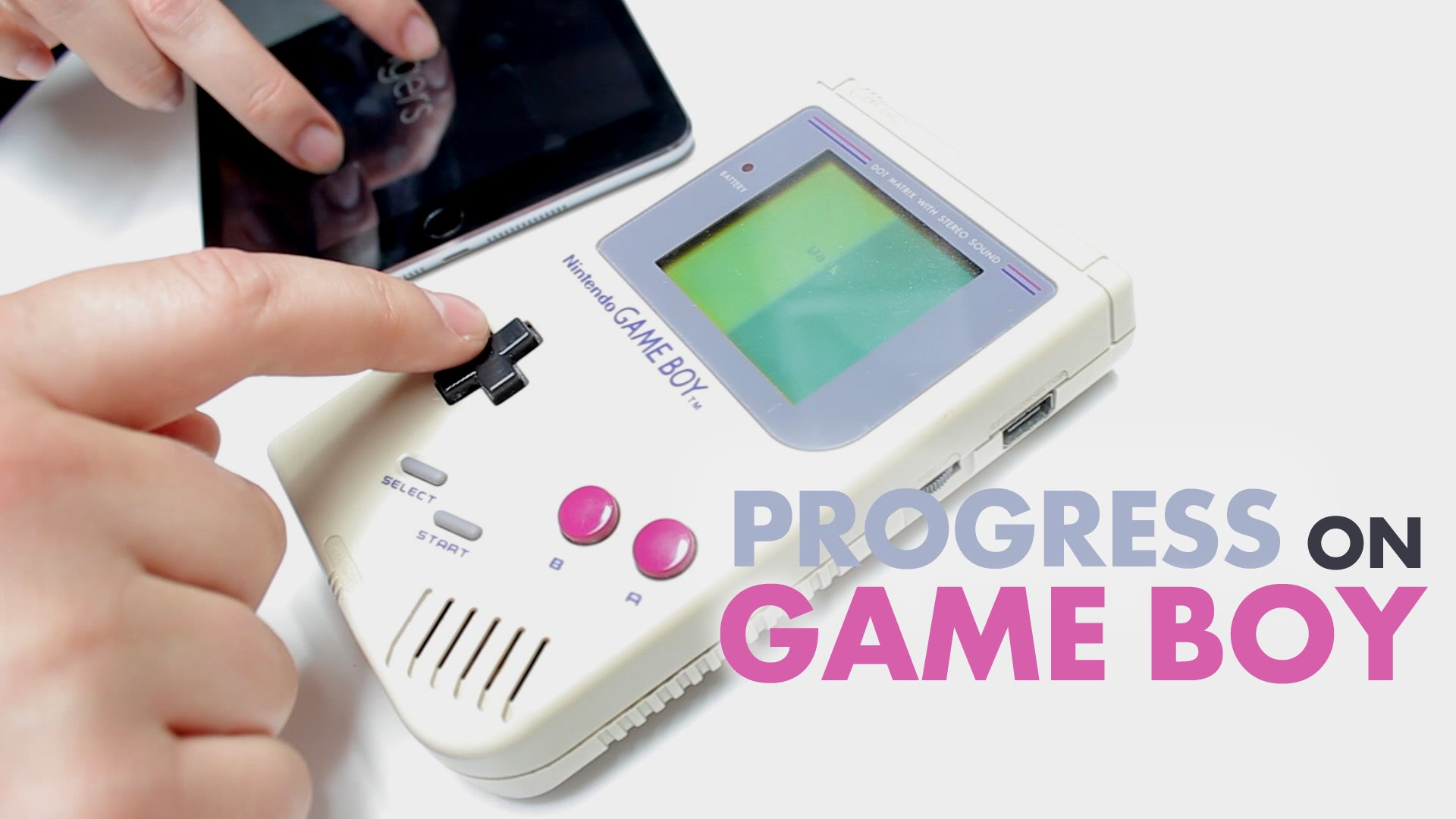 Progress for Game Boy is a Big Indie Pitch winner that's headed to Nintendo's classic portable