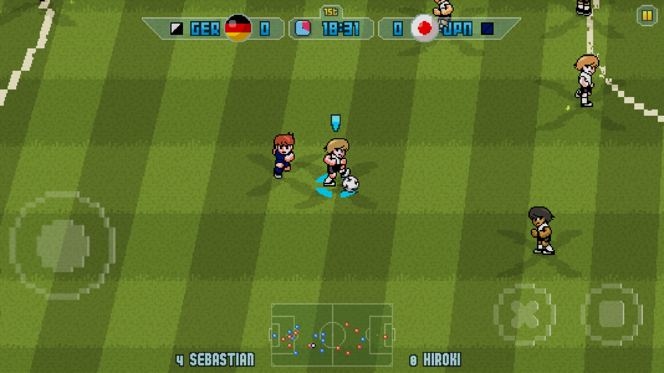 Pixel Cup Soccer 16 - The beautiful game done beautiful