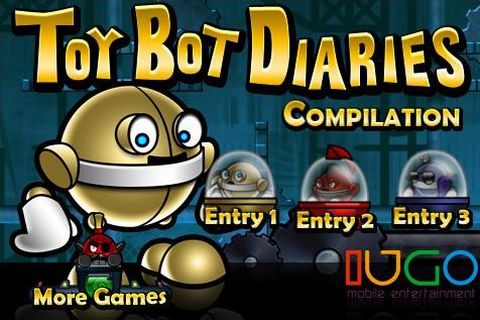 Toy Bot Diaries Compilation released on iPhone