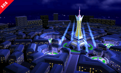 Pokemon X and Y's Lumiose City revealed as a new stage in Super Smash Bros on 3DS