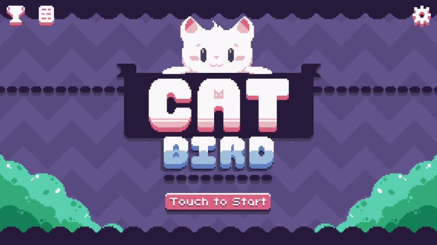 Cat Bird is an adventure platformer about a flying cat, coming to iOS August 24th