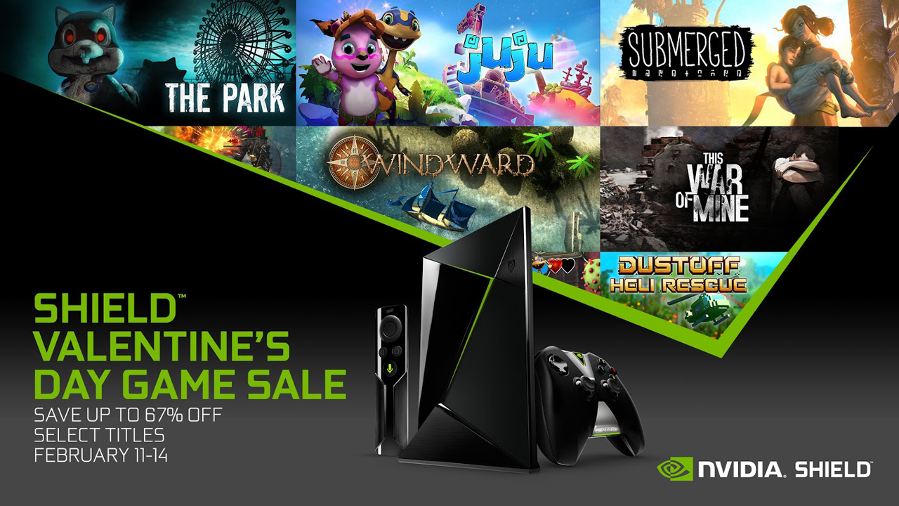 NVIDIA kicks off its February sale offering great deals on SHIELD games for Android and GeForce NOW
