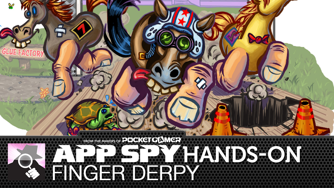 Ever wanted to ride a drunk horse? Finger Derpy might just be for you