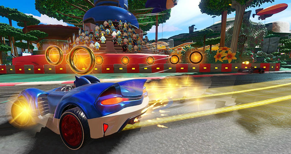 Team Sonic Racing has been delayed way into 2019