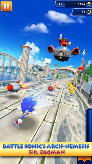 How to always keep on running in Sonic Dash - hints, tips