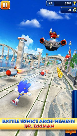 Dr Eggman returns to cause havoc in Sonic Dash for iOS and Android
