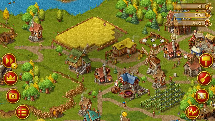 Townsmen Iphone Game Information Inc Reviews News Screenshots