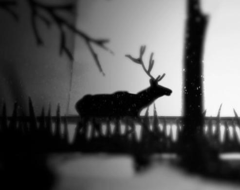 Elk is a stop-motion stealth/puzzle platformer set in the shadowy wilderness