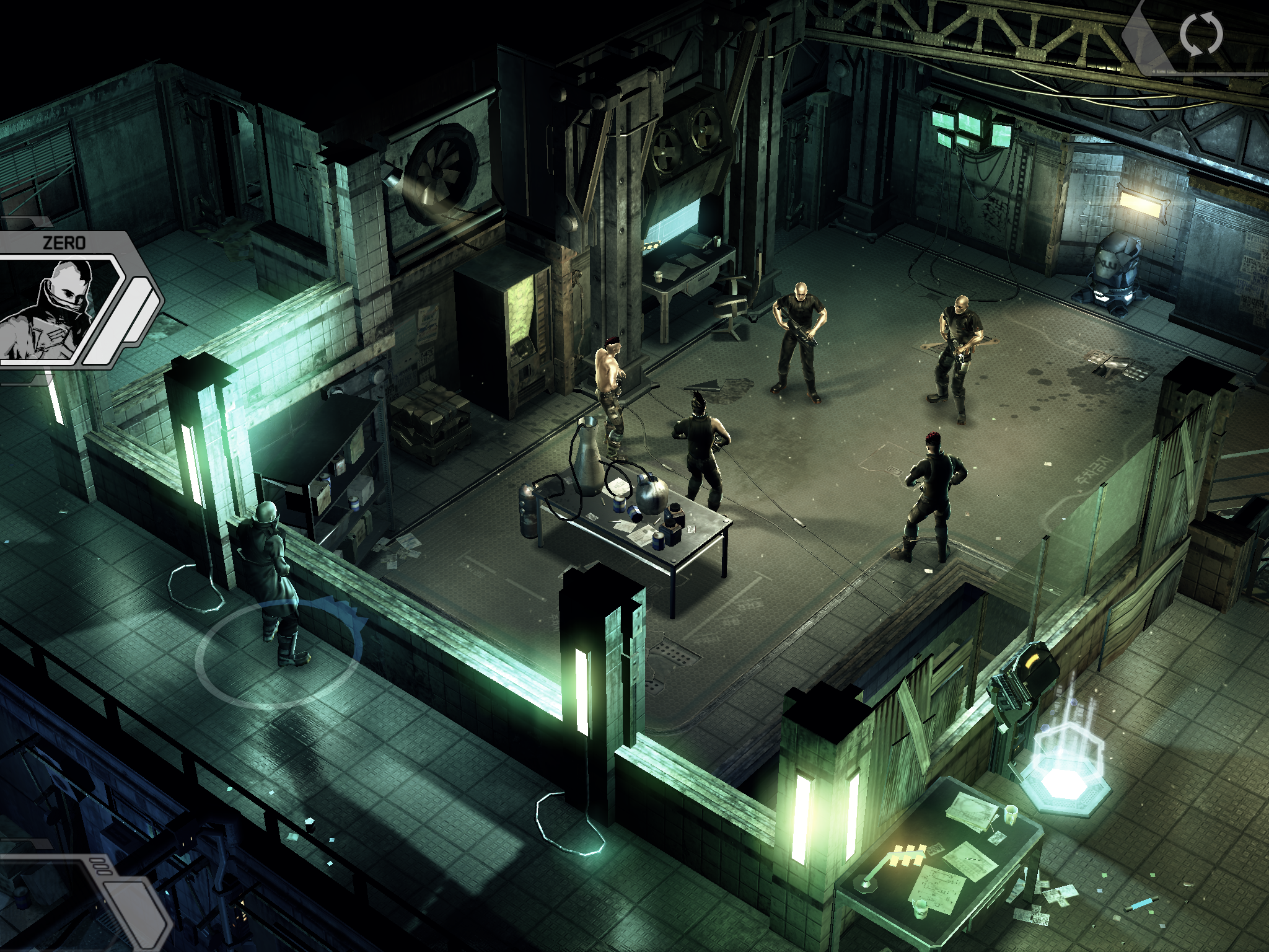 Static Sky will bring tactical cyberpunk action to iPad and iPhone