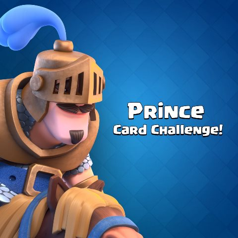 Clash Royale launches Prince Card Challenge for the next 24 hours