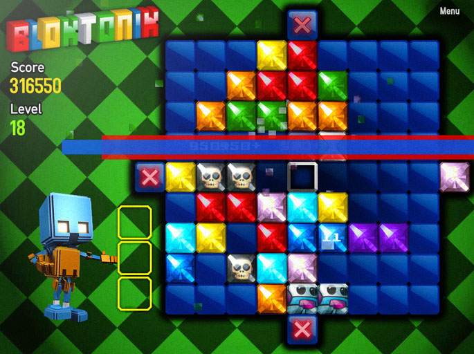 Gravity shifting match-four game Bloktonik comes to iPad