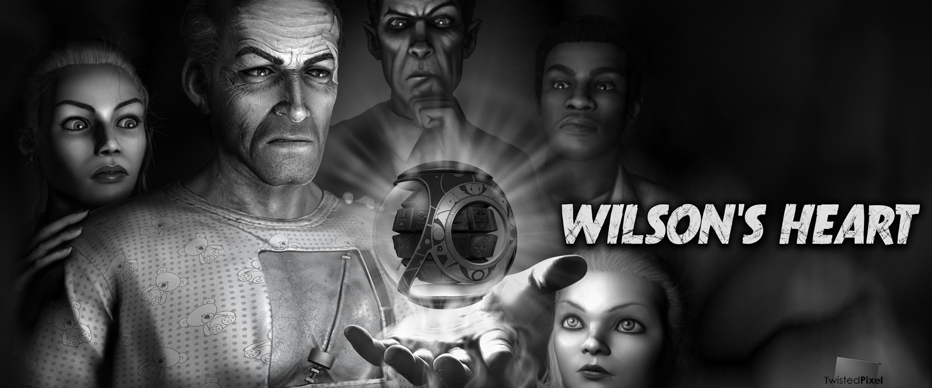 Step into the stylistic psychological thriller Wilson's Heart