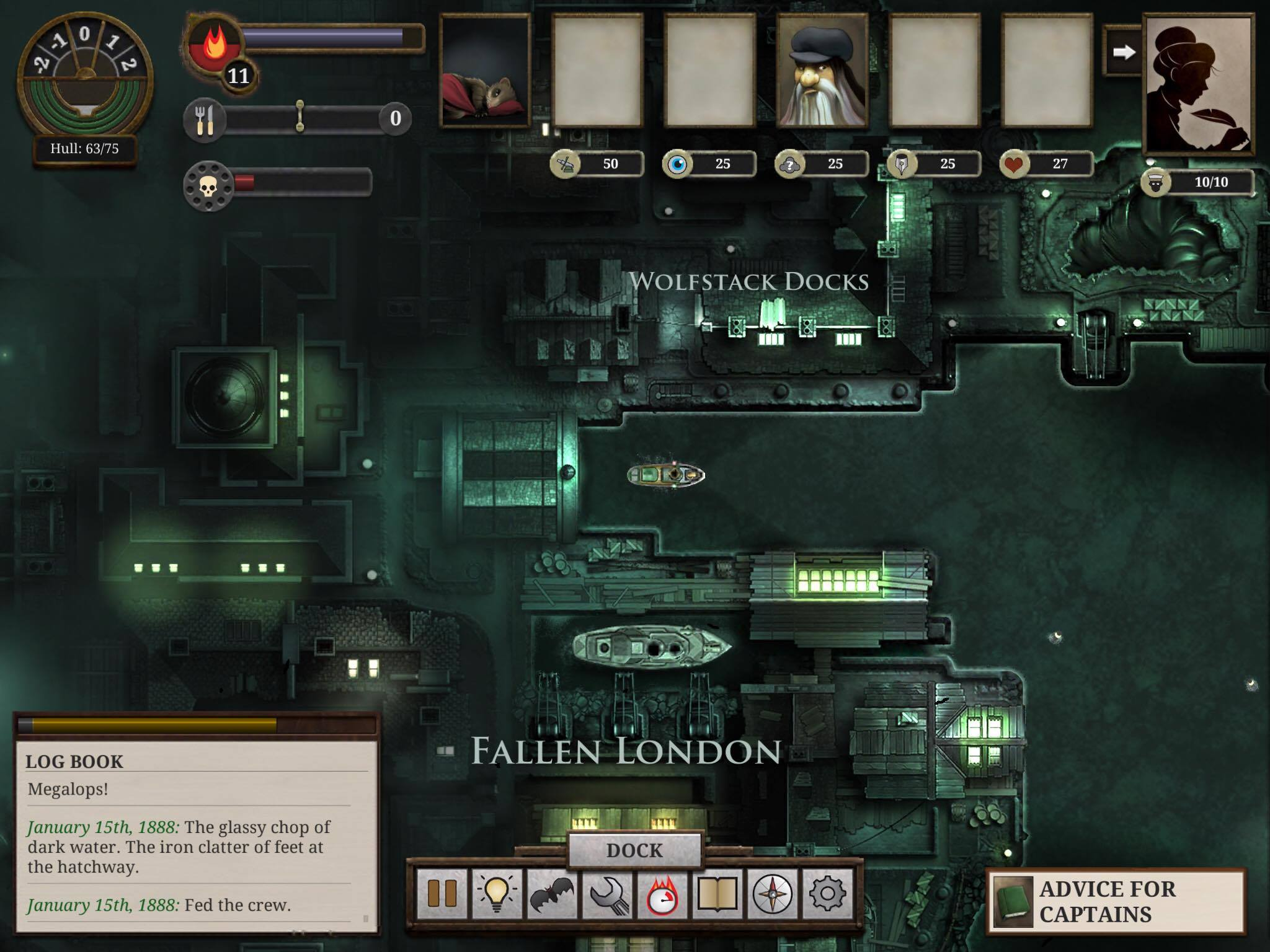 Sunless Sea Review - A dark, gothic adventure