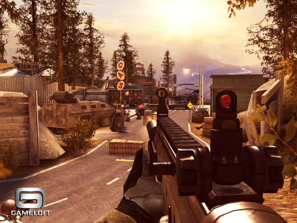 Gameloft's much-anticipated first-person shooter Modern Combat 3: Fallen Nation for iPhone and iPad explodes onto New Zealand App Store