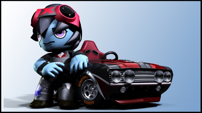 Hands on with ModNation Racers on PSP