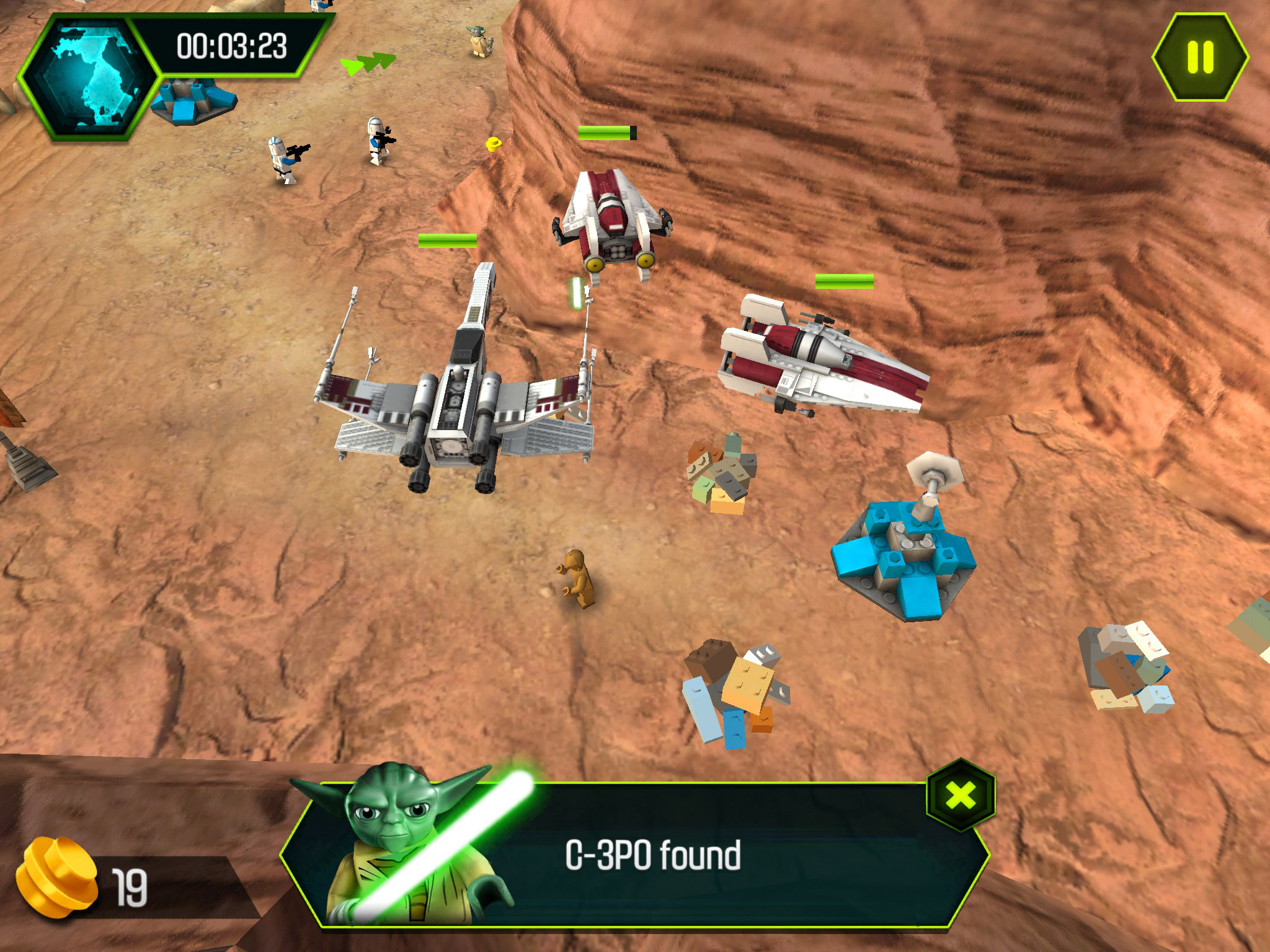 Lego Star Wars The Yoda Chronicles Force Pushes itself onto the App Store in time for Star Wars Day