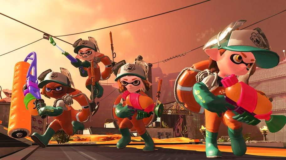 Nintendo spills the details on Splatoon 2's new game mode, Salmon Run