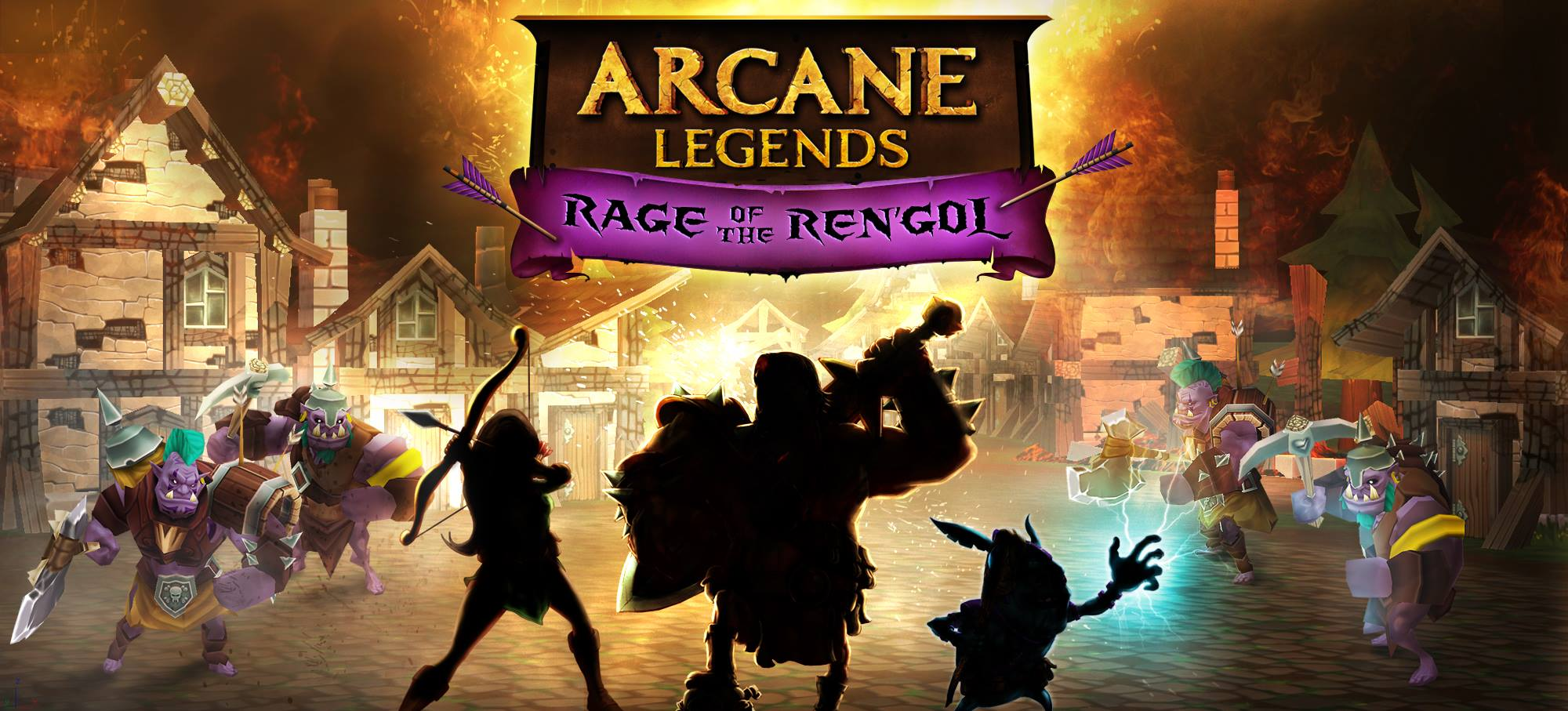 Arcane Legends new expansion Rage of the Ren'gol throws dynamic environments and dungeon crawling into the mix