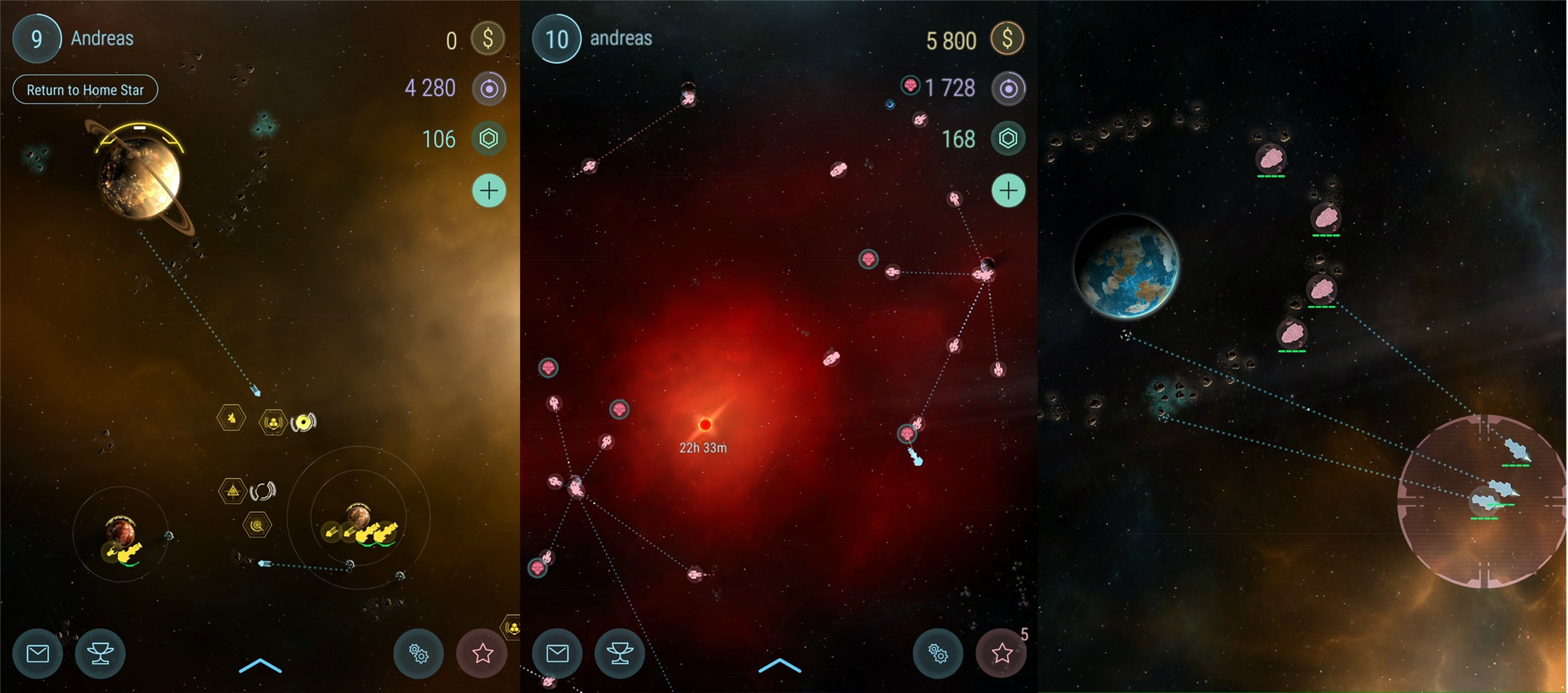 Hades' Star will bring MMO space strategy to mobile