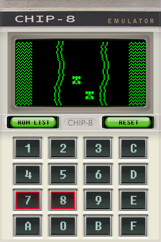 Retro CHIP-8 emulator (re)released for iPhone | Articles