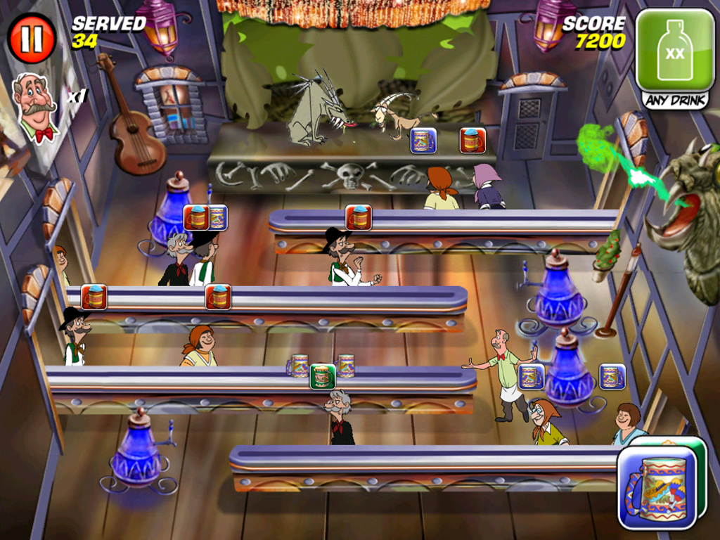 GDC 2011: First look at Tapper World Tour for iPhone and iPad