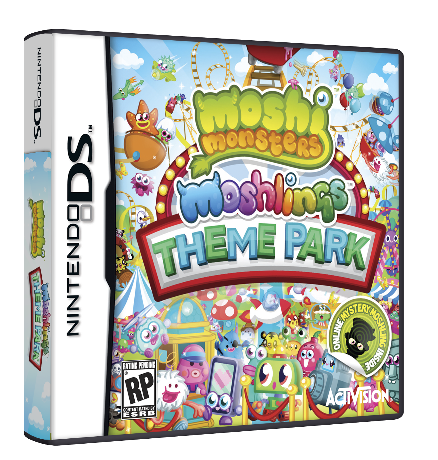 Build a Moshling Theme Park on your 3DS this October