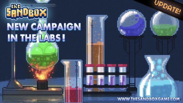 "The Sandbox gets a new ""In The Labs"" campaign that'll teach you explosive chemistry"
