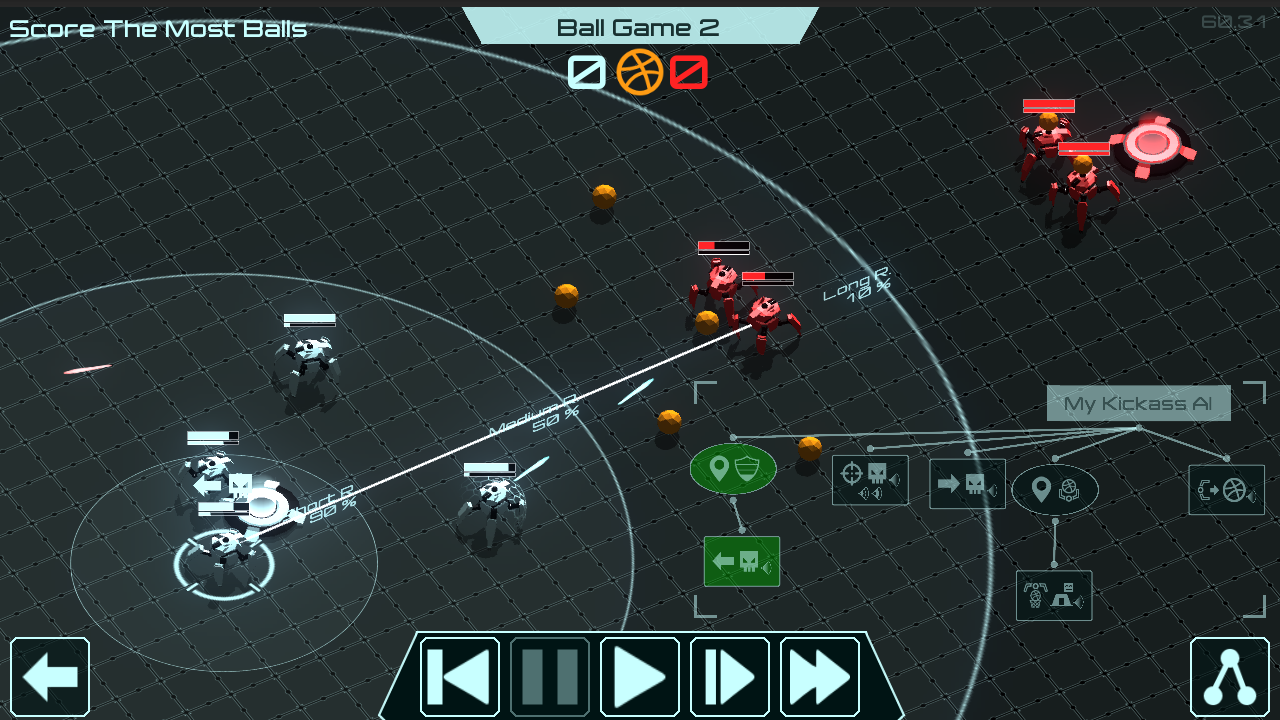 Gladiabots combines tactical bot combat and programming puzzles
