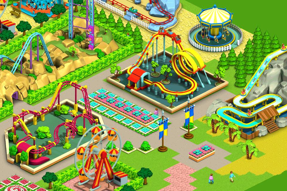 Tagplay brings freemium theme park build-'em-up Funpark Friends to iPhone