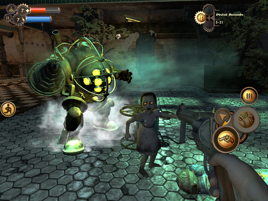 Groundbreaking blaster BioShock is coming to iPhone and iPad this summer