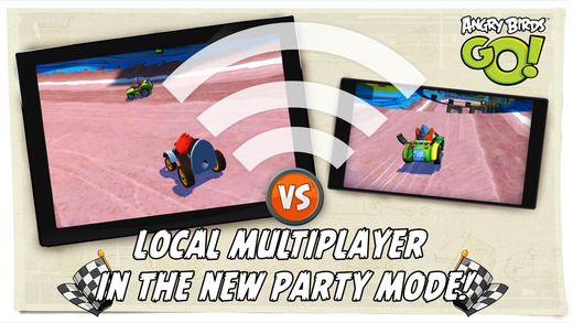 Angry Birds Go! gets local multiplayer races on iOS today in its latest update