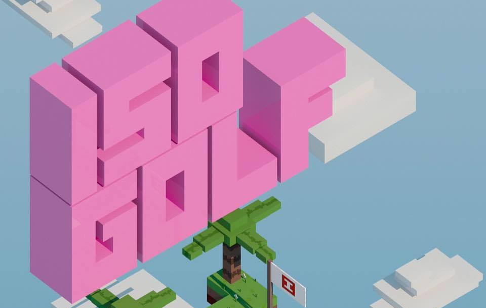 ISO Golf is one of the stranger golf games coming to mobile but it's certainly intriguing