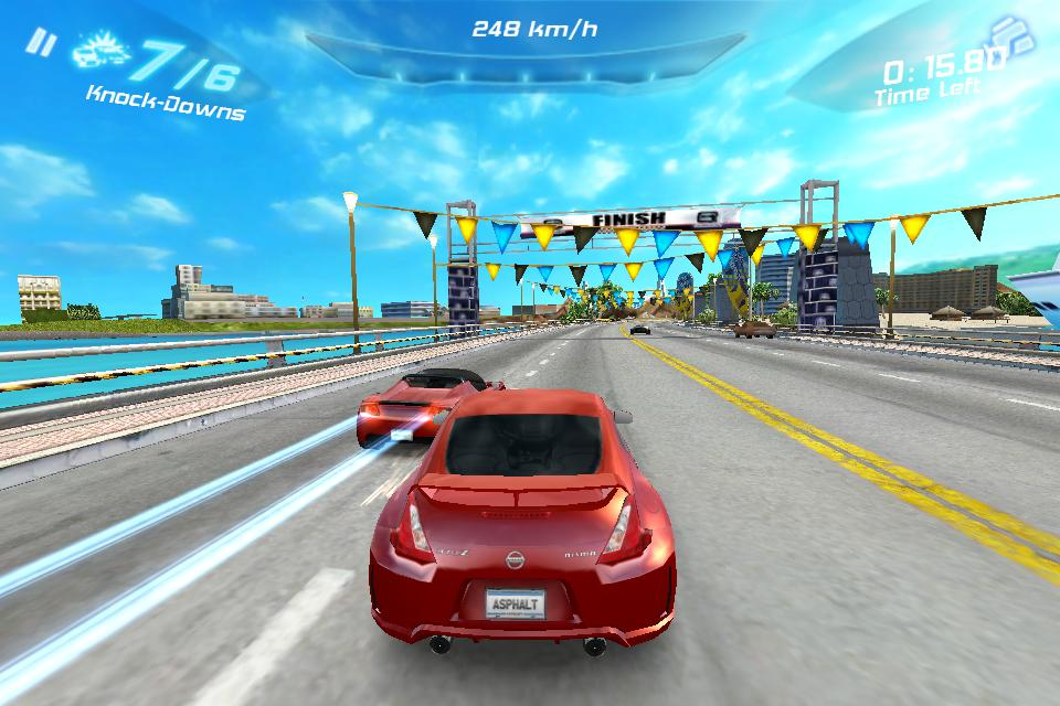Gameloft racer Asphalt 6: Adrenaline updated with improved visuals for iPhone 4S
