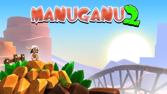 Out at midnight: Manuganu 2 will have you flying, swimming, and climbing to avoid its zany beasts