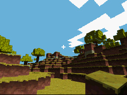 Hands-on with Minecraft for DS, with homebrew version DScraft
