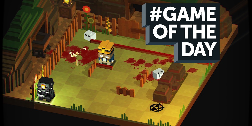 GAME OF THE DAY - Slayaway Camp is a brilliantly gruesome puzzler