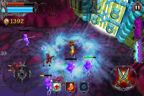 Acclaimed iOS vamp-basher Vampire Rush on sale at 59p/99c for 'a very limited time'