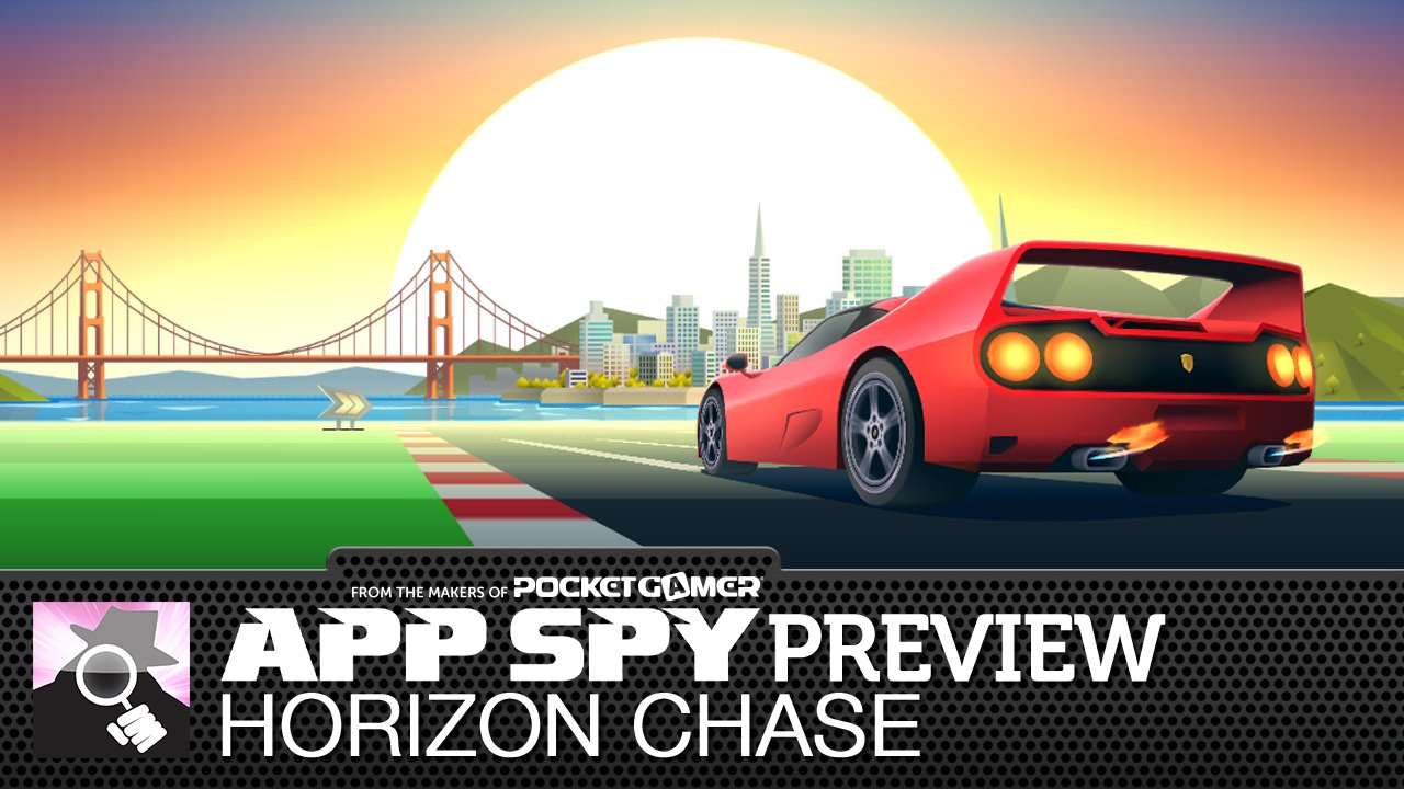 Horizon Chase is Out Run, Final Lap, and Jaguar XJ220 all rolled up into one