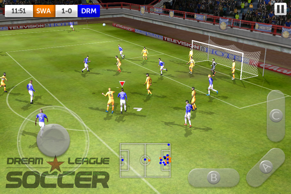 first touch games kicks off with free to play dream league soccer for ios articles pocket gamer play dream league soccer for ios