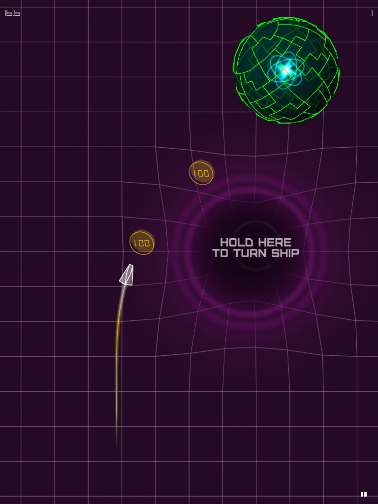 AGRAV is a chill game about creating black holes with your