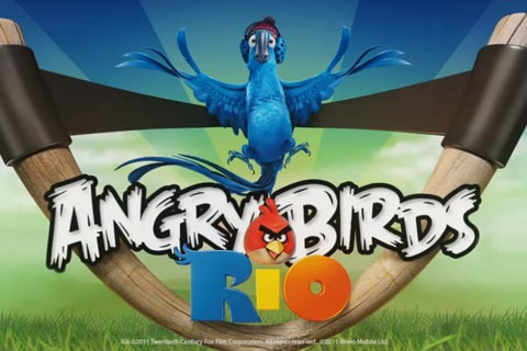 15 new summer-themed levels in latest update to Angry Birds Rio